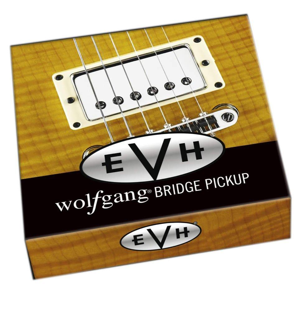 Evh Wolfgang Humbucker Electric Guitar Bridge Pickup With Chrome Peavey Wiring Diagram Cover