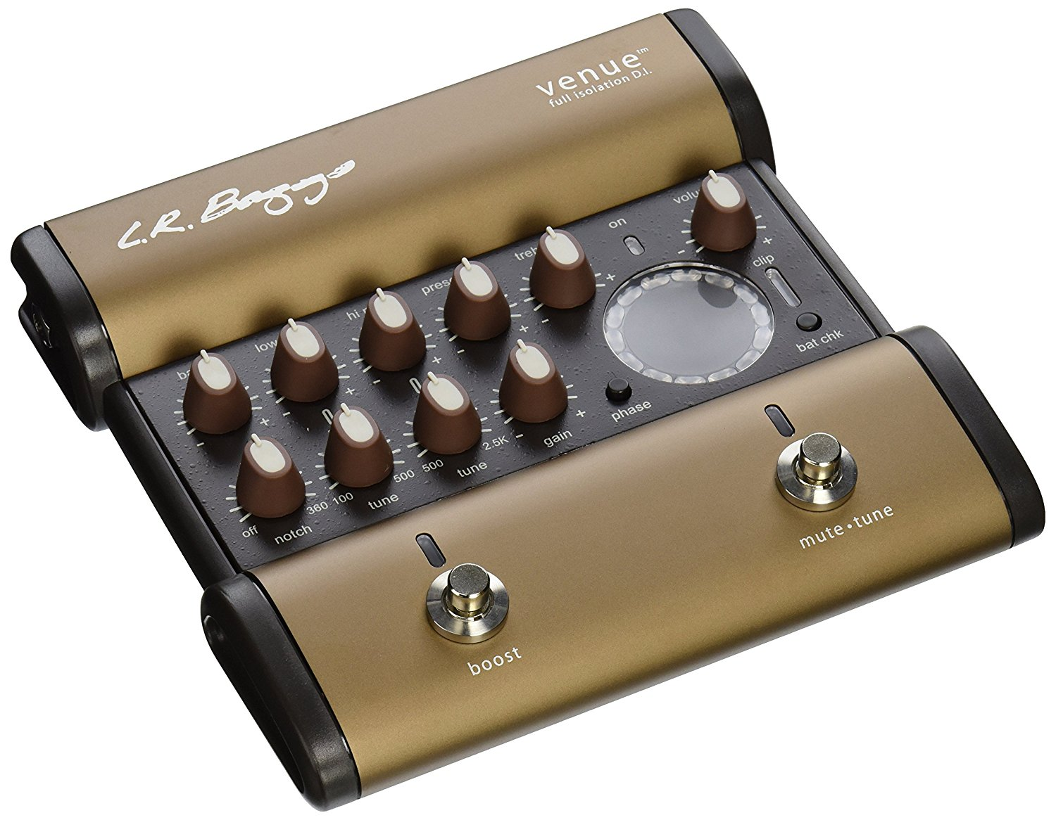 lr baggs venue di acoustic guitar preamp direct box and effects pedal 897042002181 ebay. Black Bedroom Furniture Sets. Home Design Ideas