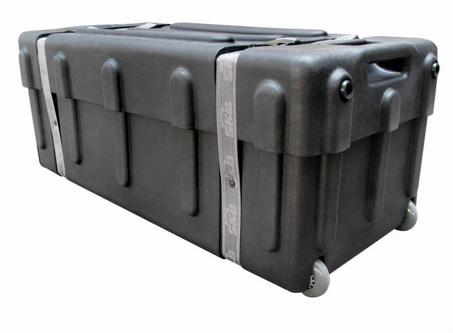 skb drum hardware case w wheels dh3315w ebay. Black Bedroom Furniture Sets. Home Design Ideas