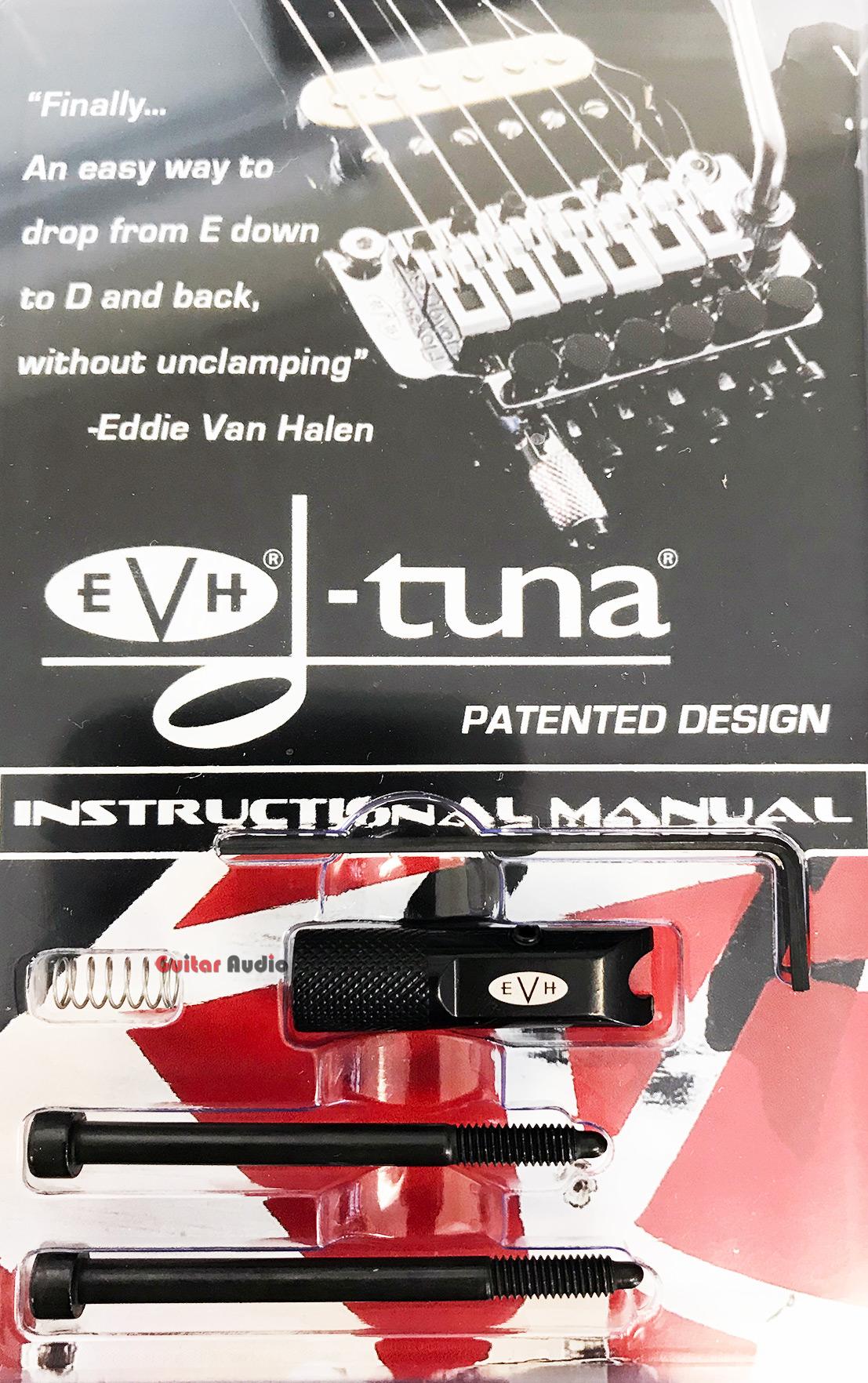 evh van halen black d tuna drop tuner for locking trem floyd rose tremolo dt100b 820454118393 ebay. Black Bedroom Furniture Sets. Home Design Ideas