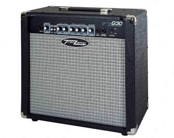 tranzamp g30 30 watt electric guitar combo amplifier amp designed by genz benz ebay. Black Bedroom Furniture Sets. Home Design Ideas
