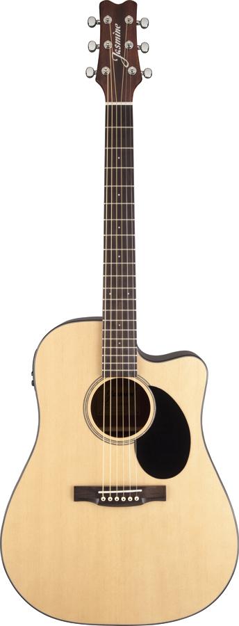 jasmine by takamine jd36ce nat dreadnought acoustic electric cutaway guitar ebay. Black Bedroom Furniture Sets. Home Design Ideas