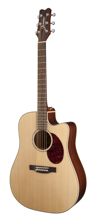 jasmine by takamine jd37ce nat solid top dreadnought acoustic electric guitar ebay. Black Bedroom Furniture Sets. Home Design Ideas