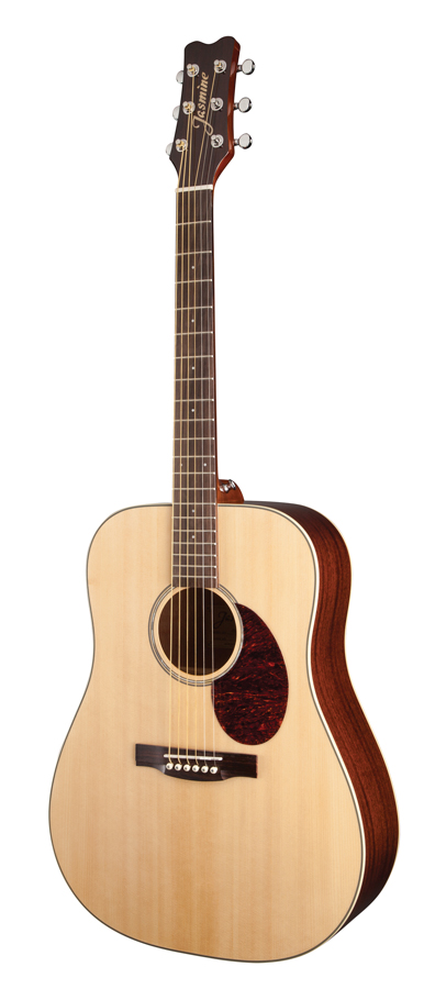 jasmine by takamine jd37 nat solid top dreadnought acoustic guitar natural ebay. Black Bedroom Furniture Sets. Home Design Ideas