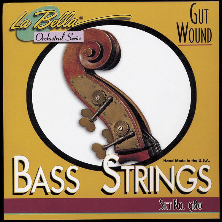 la bella 980 gut upright bass strings ebay. Black Bedroom Furniture Sets. Home Design Ideas