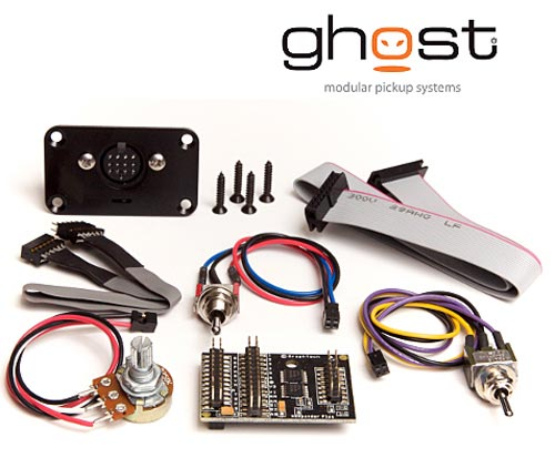 graph tech ghost hexpander guitar bass midi interface pickup kit pk 0440 00 ebay. Black Bedroom Furniture Sets. Home Design Ideas