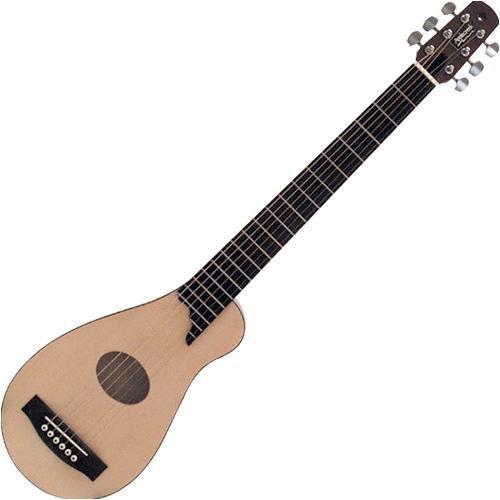 applecreek acg10 steel string acoustic travel guitar with gig bag ebay. Black Bedroom Furniture Sets. Home Design Ideas