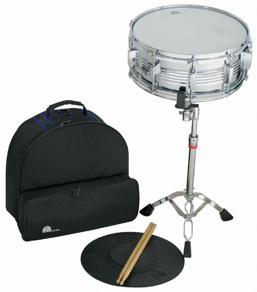 percussion plus psk300 snare drum kit set with stand bag practice pad sticks. Black Bedroom Furniture Sets. Home Design Ideas