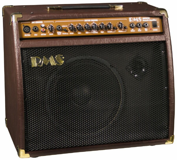 rms ac 40 40 watt acoustic guitar amplifier amp with mic microphone input 717070038931 ebay. Black Bedroom Furniture Sets. Home Design Ideas